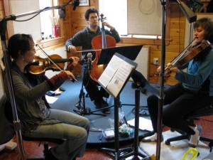 Tritticali recording our new CD